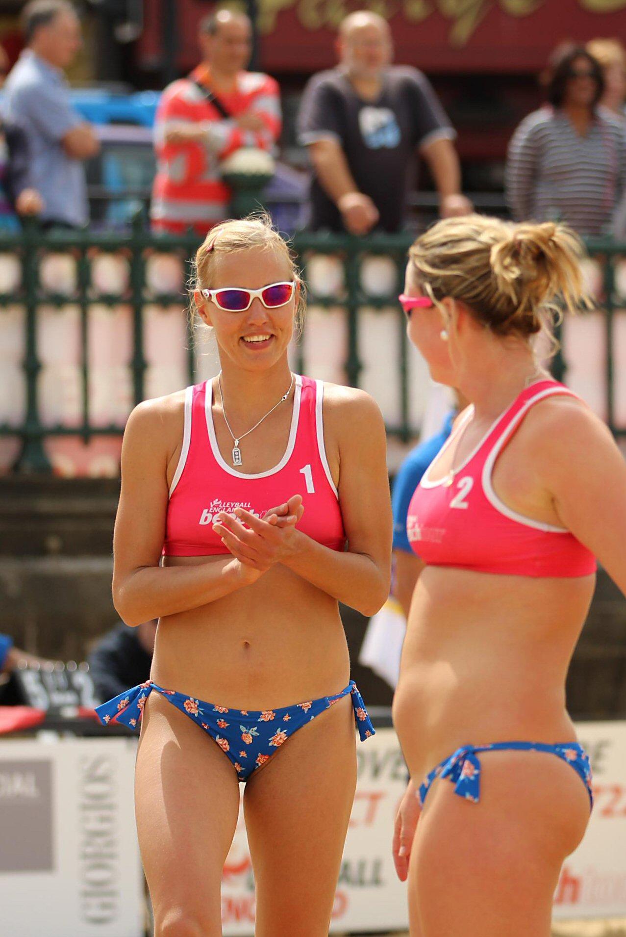 from Alijah women beach volleyball oops